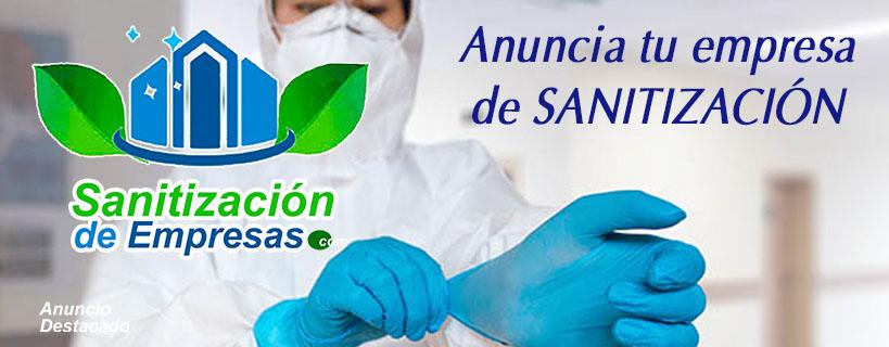 Anuncios para empresas de sanitización
