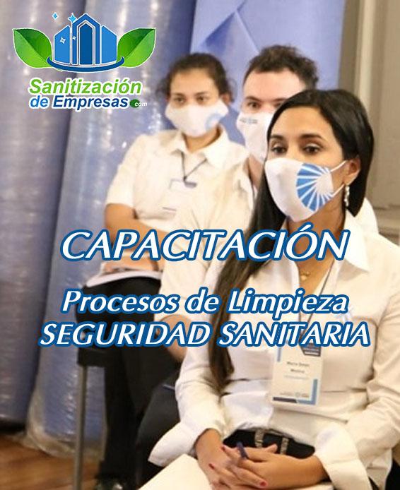 Curso de sanitización y seguridad sanitaria