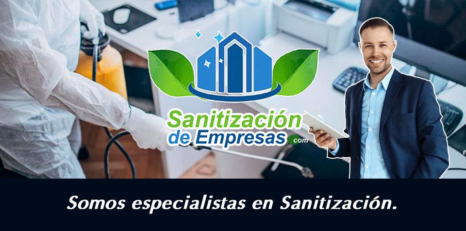 Especialistas en sanitización